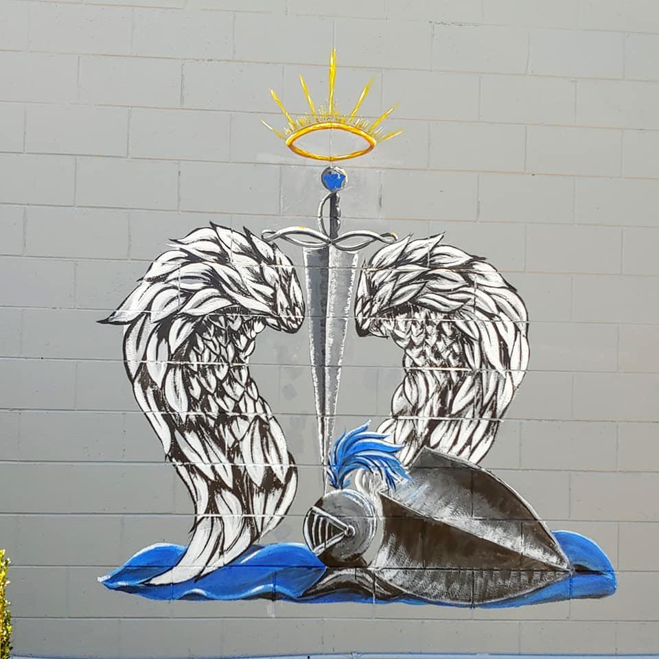 The Fallen Knights Mural